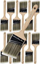 """Pro Grade - Paint Brushes - 12Ea 3"""" Angle Brushes"""