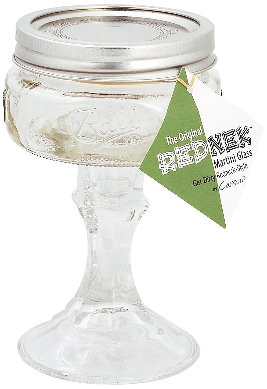アヒル洗うエキゾチックCarson Home Accents The Original Rednek Tini Glass [並行輸入品]
