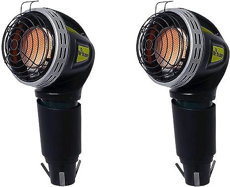 Mr. Heater MH4GC 4000 BTU Propane Portable Golf Cart Cup Holder Heater (2 Pack): image