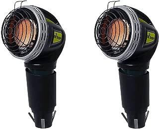 Mr. Heater MH4GC 4000 BTU Propane Portable Golf Cart Cup Holder Heater (2 Pack)