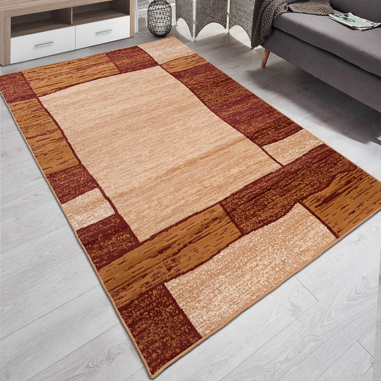 Carpeto Teppich Modern Geometrische Muster Trend Trend Trend Meliert in Braun - ÖKO Tex (250 x 350 cm) B06XT1GP3H e5d9fa