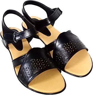 saanvishubh Synthetic Leather Flat Sandals for Girls and Women