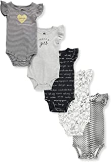 Carter's Baby Girls' 5-Pack Bodysuits
