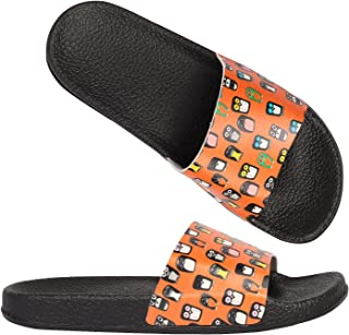SITSLOP Womens & Girls Slider Flip Flop Causal Slippers