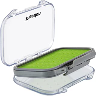 Piscifun Two-Sided Waterproof Fly Box Slim Fly Fishing Boxes Fly Fishing Gear Tackle Storage
