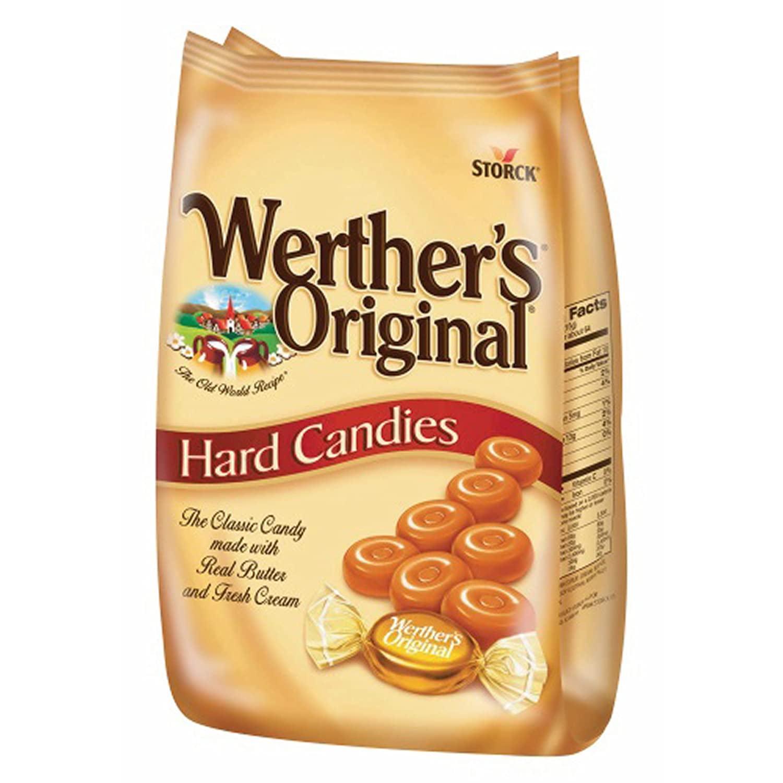 Werther's Original Butter Hard Candies Sacramento Mall 2 of oz. 34 Direct stock discount pack
