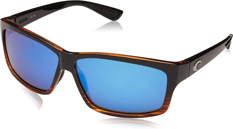 Costa del Mar UnisexAdult Cut UT 51 OGMGLP Polarized Iridium Rectangular Sunglasses