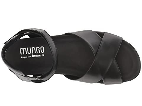 Munro Brinn Kid Black Munro Leather Brinn qzT1O