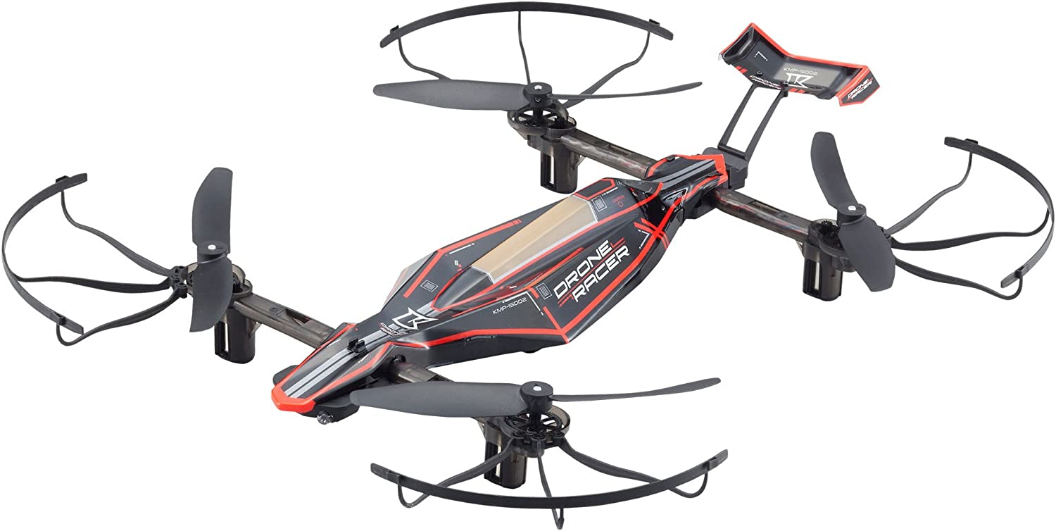 Más asequible Kyosho Zehpr 20572BK B Ready To Fly Fly Fly RC Drone Racer, Negro  marca famosa