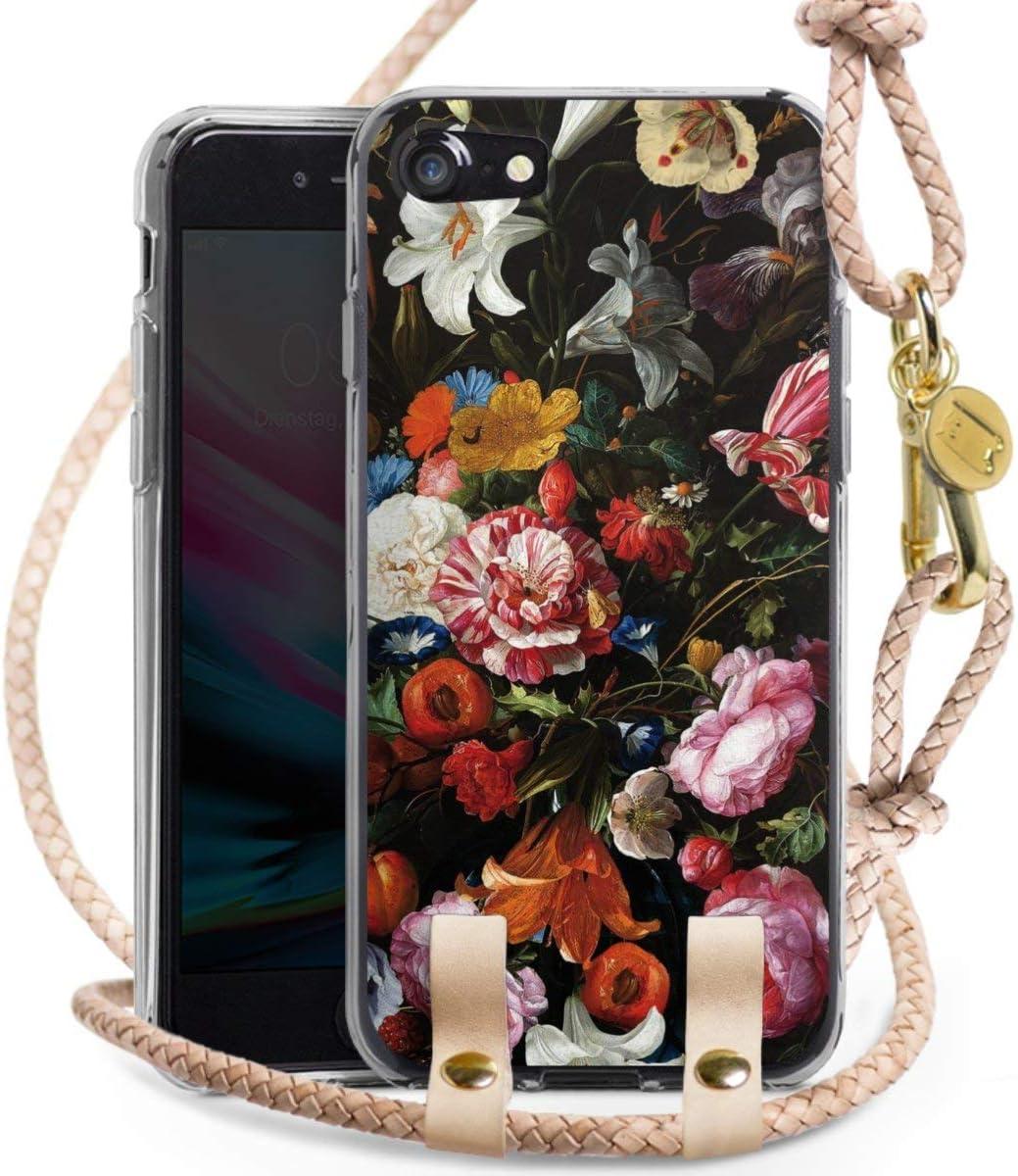 DeinDesign Carry Case kompatibel mit Apple iPhone 8 Handykette Handyh/ülle zum Umh/ängen Pattern Muster Gothic
