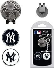 مشبك قبعة MLB مع 2 من علامات كرة الجولف