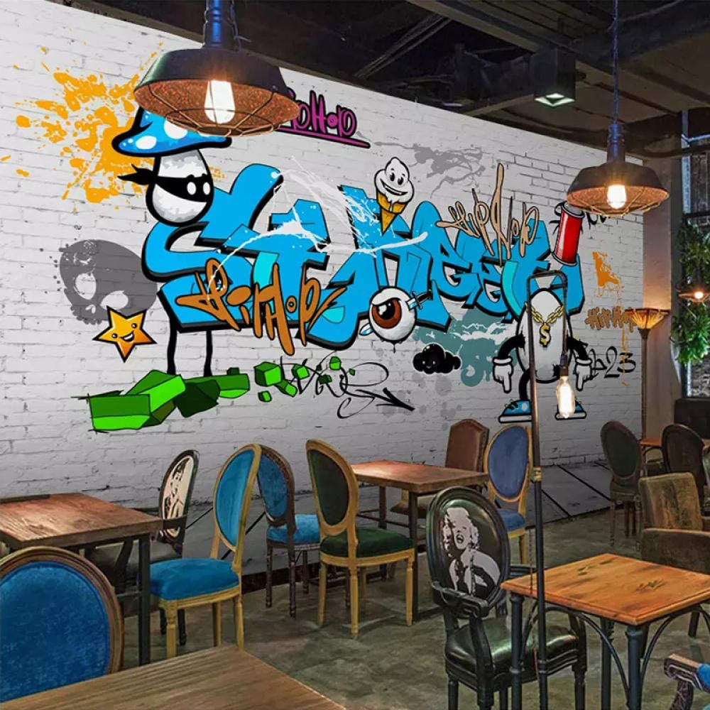 LUOWAN Creative 3D Wall Decals Bric Graffiti Discount is Limited price also underway Removable DIY Color