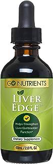 Liver Edge - Liver Detox Cleanse & Support Supplement - Organic Liquid Milk Thistle, Dandelion, Turmeric, Artichoke Root E...