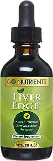 Liver Edge - Cleanse Detox & Support Supplement | Liquid Drops with Milk Thistle, Dandelion, Turmeric, Artichoke - 2 oz