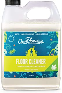 Aunt Fannies Vinegar Wash Floor Cleaner Lime Mint, 32 Ounce