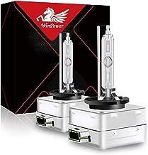 WinPower D3S 35W Xenon Bombillas Faro Bixenón Lampara HID Kit 12V Coche 6000K Blanco Xtreme Vision (2 Lamparas)