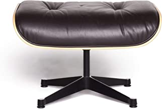 Vitra Eames Lounge Chair Leather Stool Brown Charles & Ray Eames Chair