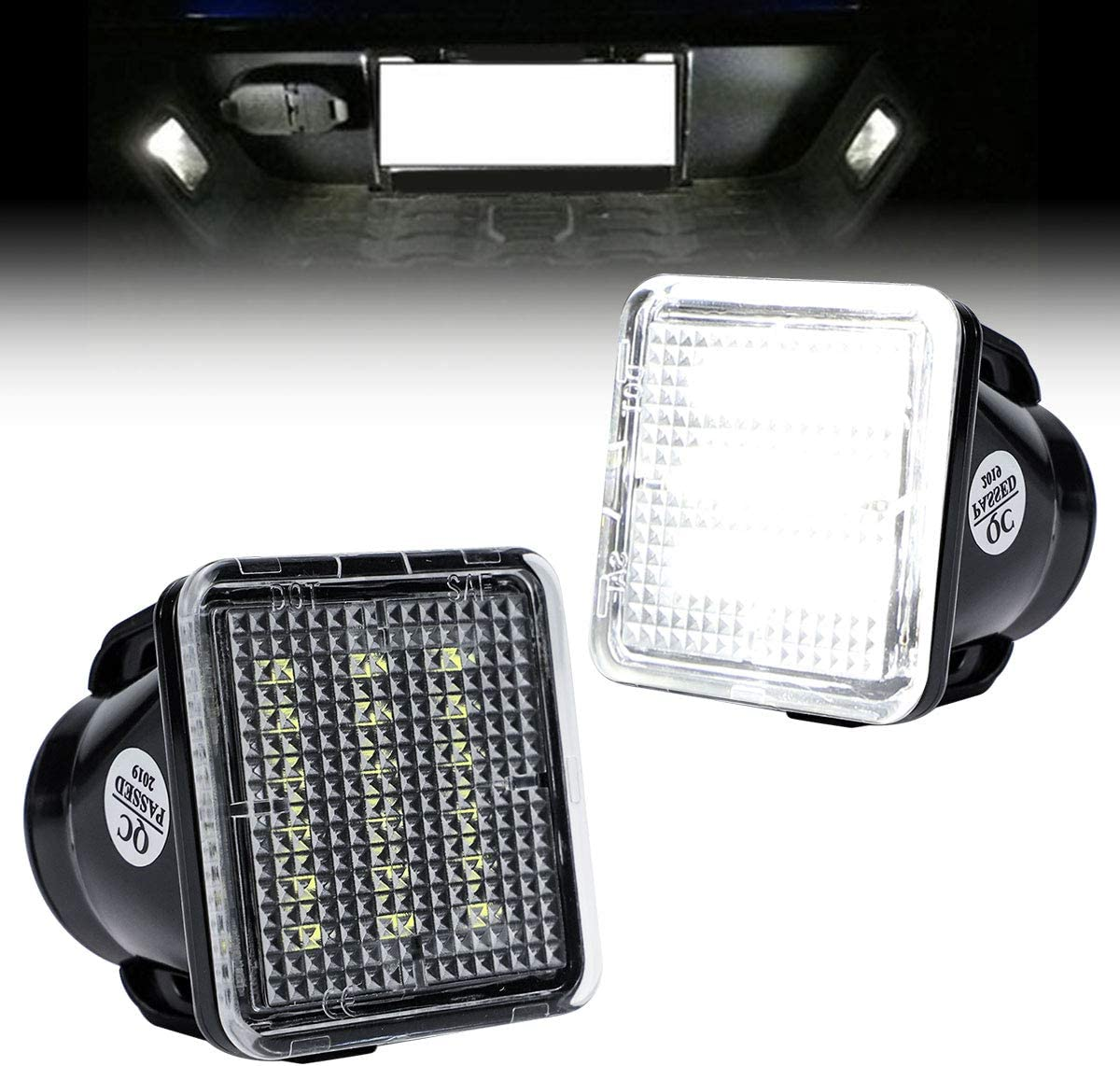 VLAND LED License Plate Light All items in the store with Safety and trust Compatible 2014-2019 a Tundra
