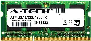 A-Tech 4GB Module for HP 15-ba009dx Laptop & Notebook Compatible DDR3/DDR3L PC3-12800 1600Mhz Memory Ram (ATMS374768B12034X1)