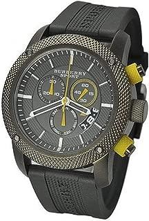 Burberry BU7713 Men's Grey Silicon Strap Grey Dial Sprot Watch