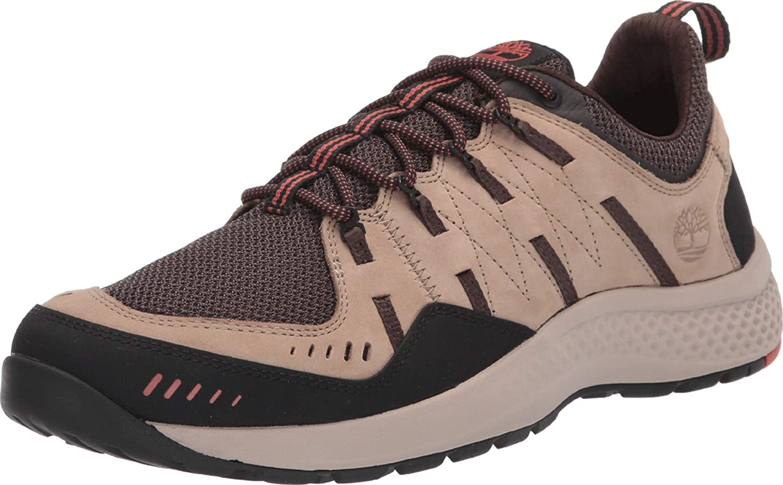 Timberland Men Flyroam Trail Low Sneakers Dark Biege Nubuck