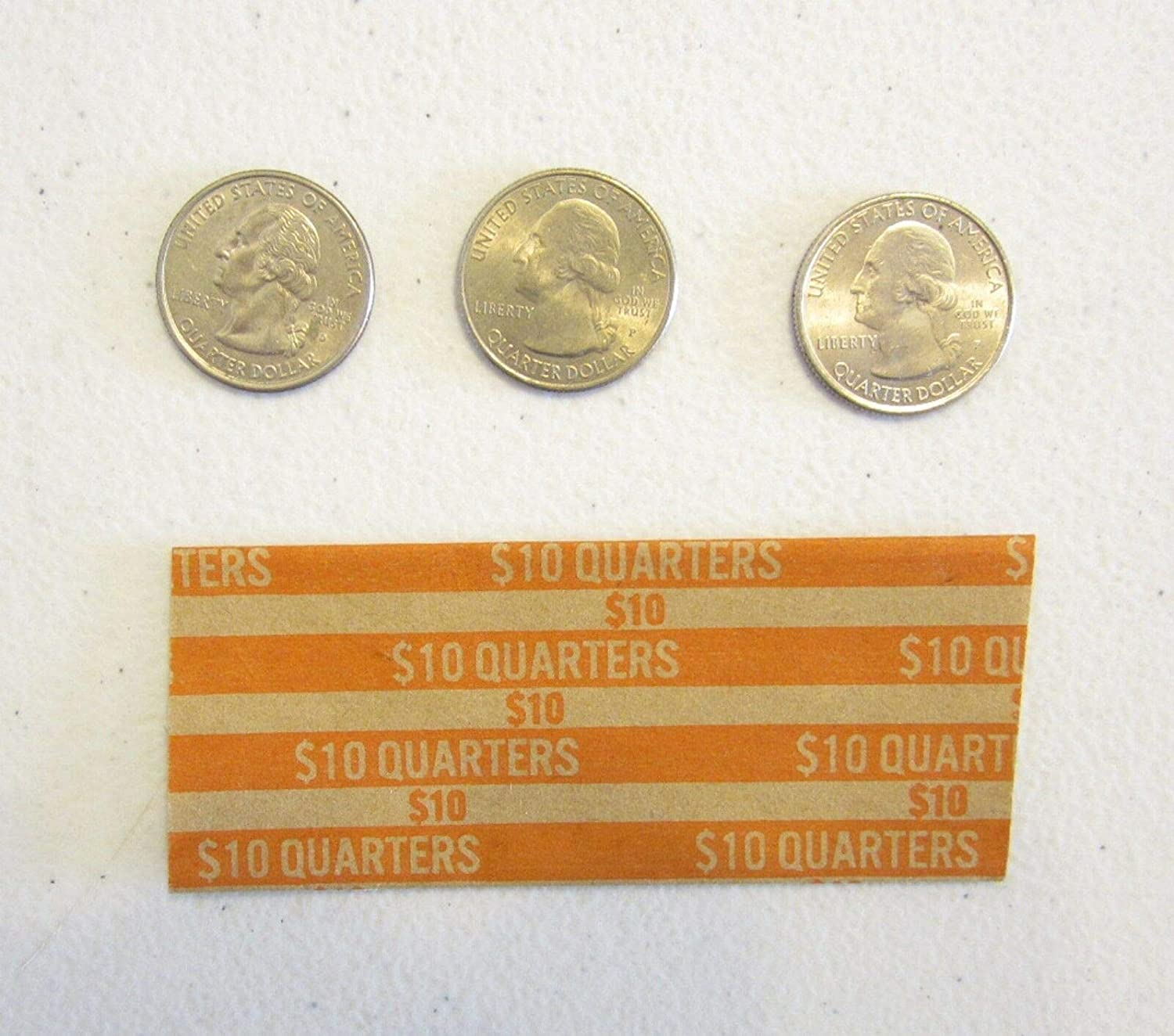 50 Coin specialty shop Wrappers for Quarter Quarters Cheap sale Wrapper