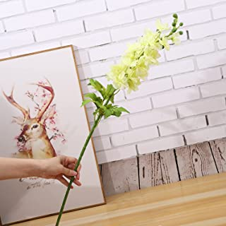 Fake Flowers, Anself Artificial Flowers Festival Artificial Branches Natural Artificial Foliage Plants Leaves Flower Front...