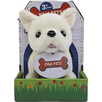 Rowan Movers & Shakers Chihuahua Plush Soft Dog Toy (White)
