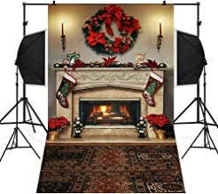 Home Decor,Pandaie Christmas Decorations Clearance Christmas Backdrops Snow Vinyl 3x5FT Background Photography Studio