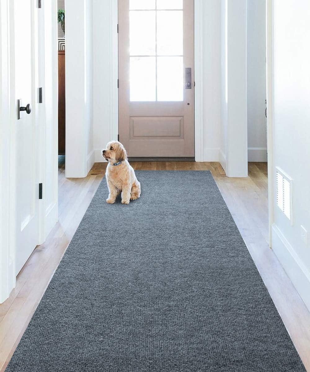 Trust Runner Rug for Hallway Superlatite SALLOUS Floors Door 2.2'x1 Hard Mat