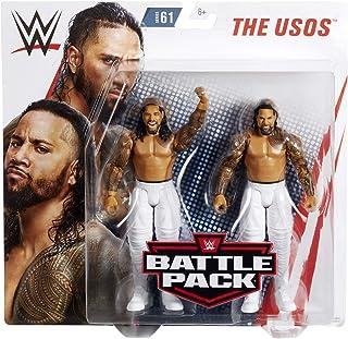 Ringside The Usos (Jimmy USO & Jey USO) - WWE Battle Packs 61 Mattel Toy Wrestling Action Figure 2-Pack