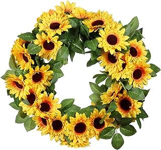 Best large decorative wreath Reviews