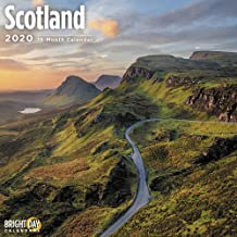 2020 Scotland Wall Calendars by Bright Day Calendars 16 Month Wall Calendar 12 x 12 inches 2020 European Calendar (Scotland 2020)