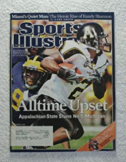 Dexter Jackson - Alltime Upset - The Appalachian State Mountaineers stun the No. 5 Michigan Wolverines - Sports Illustrated - September 10, 2007 - College Football - SI