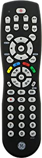 GE 24927 8-Device Universal Remote Control, Black, Compatible with Audio/Video Devices, with Ergonomic Design