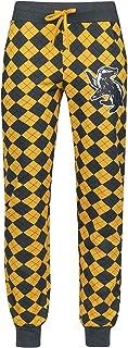Hufflepuff Mujer Pantalón de Pijama Gris/Amarillo