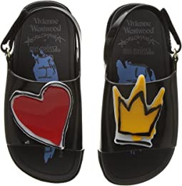 Vivienne Westwood Mini Anglomania + Melissa Beach Slide Sandal (Toddler)