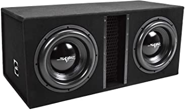 "Skar Audio Dual 12"" 5000W Loaded EVL Series Vented Subwoofer Enclosure   EVL-2X12D4"