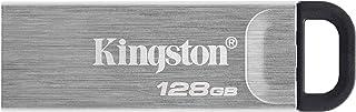 Kingston 128GB DataTraveler Kyson USB Flash Drive USB 3.2 Gen 1 speeds Metal DTKN/128GB