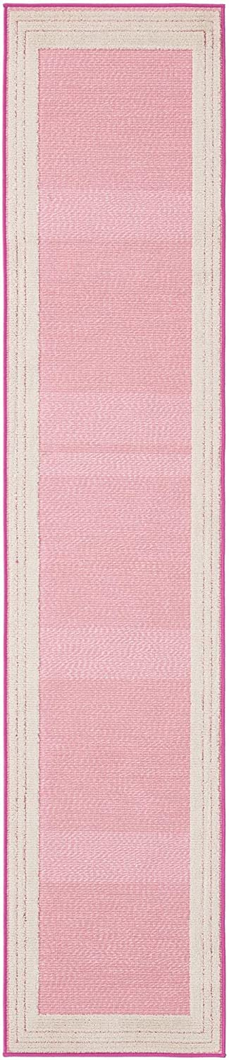 Long Beach Mall Rugs.com Aruba Outdoor Collection Rug – 10 Ft Runner Selling rankings Low-Pi Pink