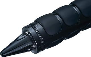 Kuryakyn Acessório de guidão preto brilhante para motocicletaKuryakyn One Size 6359