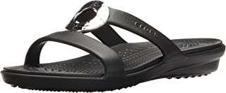 Women's Sanrah Hammered Met Sandal W Flat