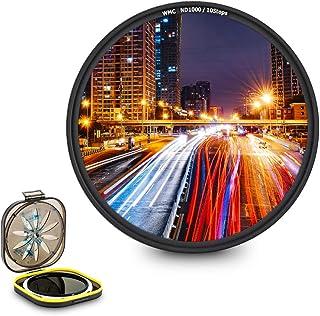 JJC 72 mm szkło optyczne ND1000 filtr ND o neutralnej gęstości do aparatu Fujifilm Fuji X-S10 X-E4 X-T4 X-T3 z XF 16-80 mm...