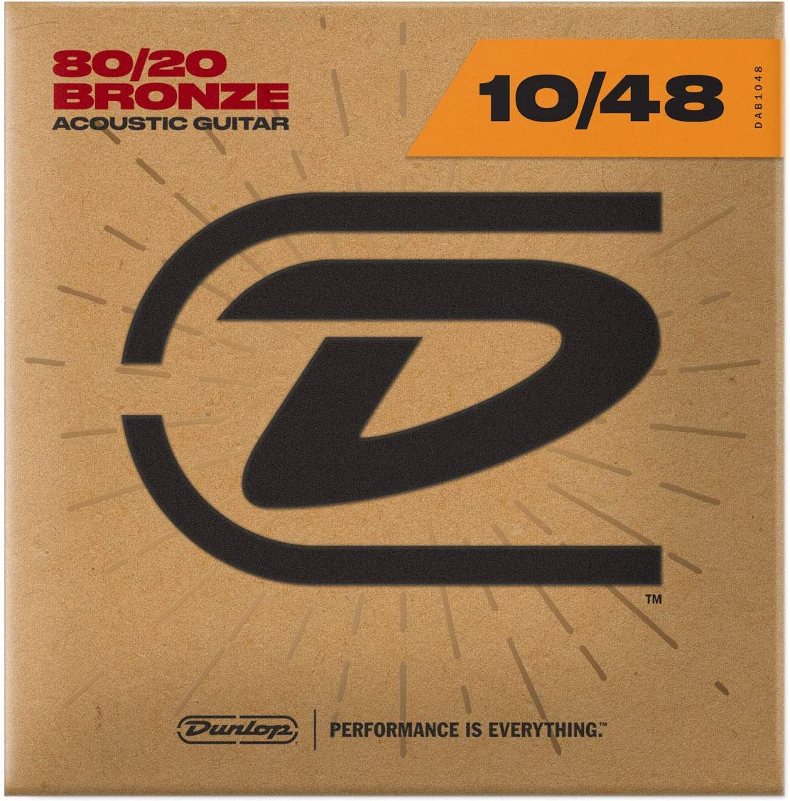 Dunlop DAB1048 Max 77% OFF Extra Light 80 Online limited product 20 Acoustic Bronze Strings Guitar