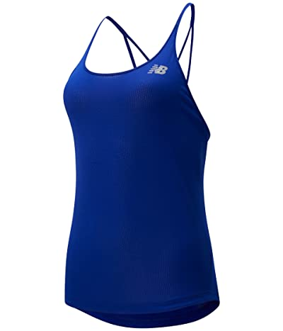 New Balance Impact Run Tank (Marine Blue) Women