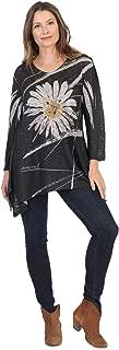 Jess & Jane Women's Chit Chat Slub Sweater Knit Tunic