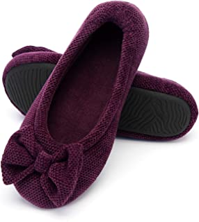 RockDove Womens Ladies' Ballet House Slippers