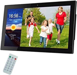 Digital Photo Frame 27 Inch IPS Screen Digital Photo Frames with USB SD Card Slots and Remote Control Digital Picture Fram...