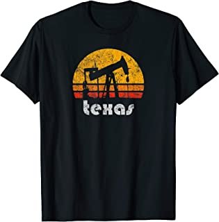 Distressed Texas Vintage Oil Pump Vintage Drilling T-shirt T-Shirt