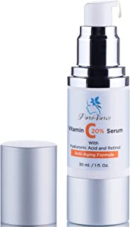 Powerful Clinically Proven Anti Aging Serum | 67% Firmer Skin | 20% Vitamin C Serum for Face w/Retinol & Hyaluronic Acid | High Potency Wrinkle Serum & Dark Spot Corrector for Dry, Acne or Oily Skin